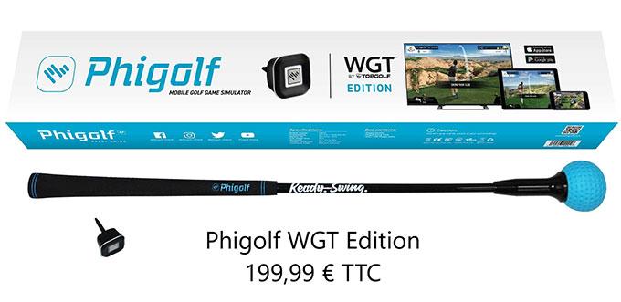 PhiGolf WGT Edition : Zoom sur le simulateur