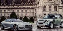 Jaguar Land Rover : le Defender et la F-Type dévoilés au FAI de Paris
