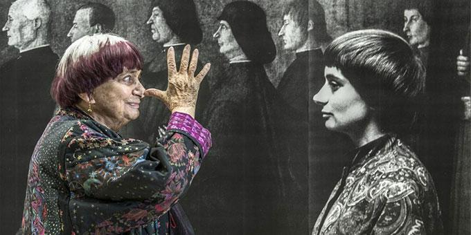 L'exposition d'Agnès Varda au Palais Idéal