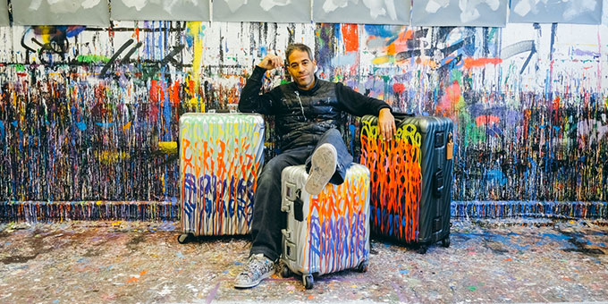TUMI s'associe avec l'artiste JonOne