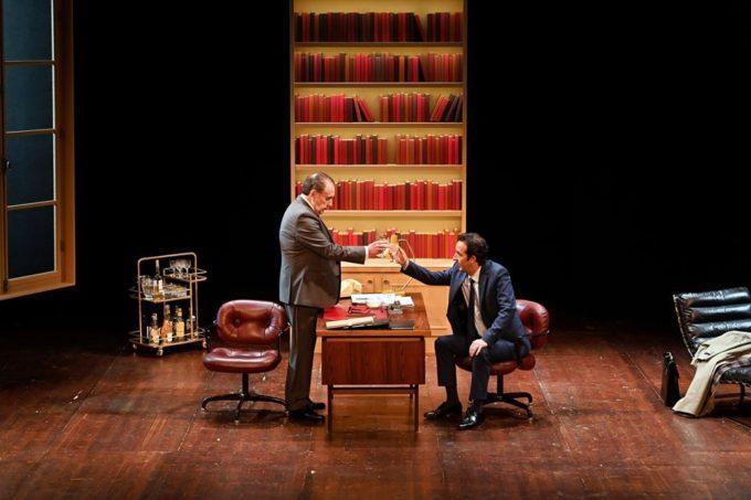 L'Opposition Mitterrand VS Rocard, au théâtre de l'Atelier.