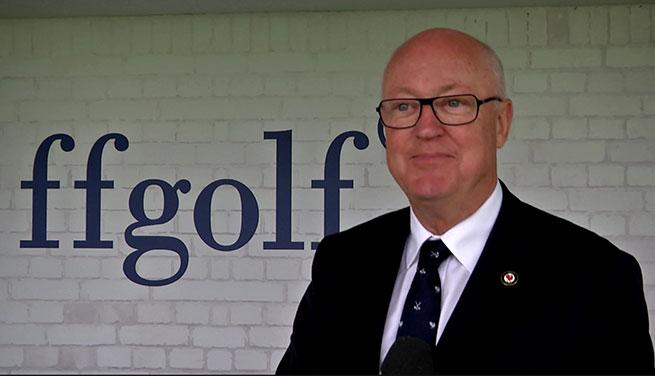 Jean-Lou Charon, président de la FFG
