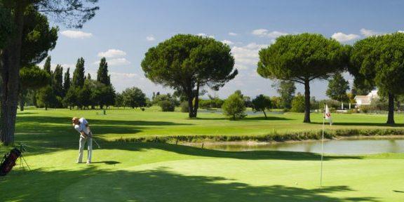 Le golf de la Grande Motte