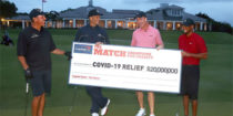 Champions for Charity : Tiger Woods et Peyton Manning remportent le match