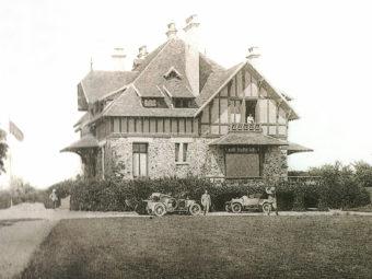 Club-house de la Boulie, début du XXe.