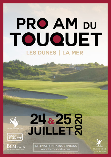 1ere édition du pro am du Touquet