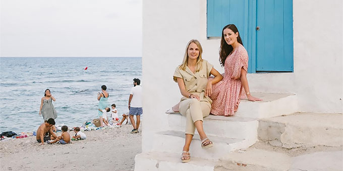 COTTESEA, les draps de plage Made in France, lance sa nouvelle collection