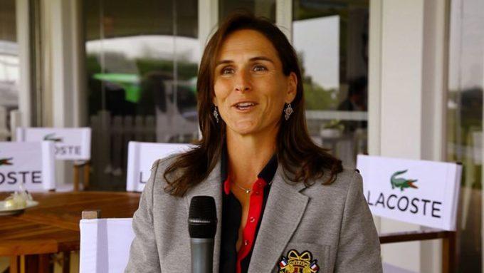 Patricia Meunier-Lebouc ambassadrice Lacoste