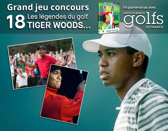 """Jeu concours """"18, Les légendes du Golf : TIGER WOODS"""" : les gagnants !"""