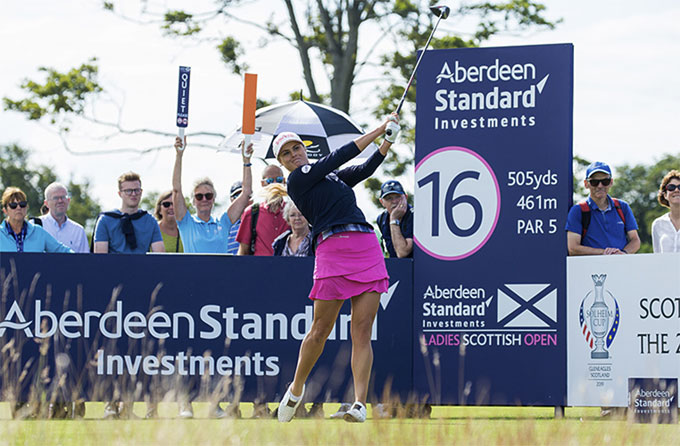 Le LET retourne jouer en Écosse - Ladies Scottish Open