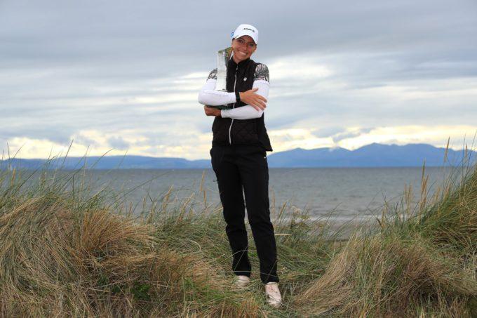 AIG Women's Open : Sophia Popov marque l'histoire du British
