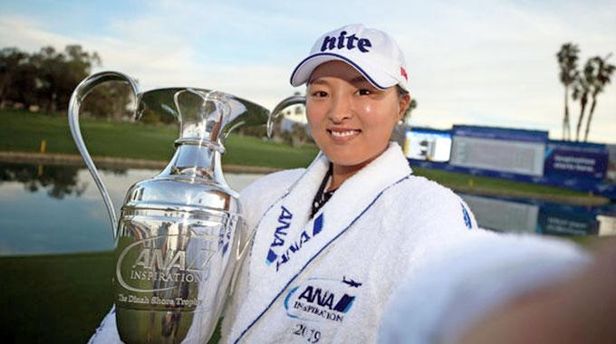 ANA Inspiration : Jin Young Ko envoie ses meilleurs vœux aux joueuses