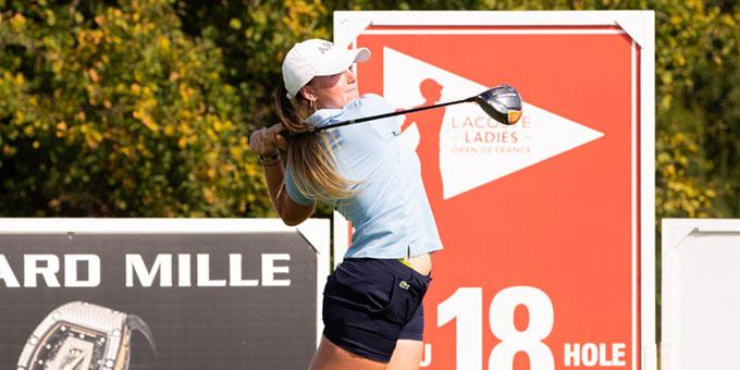 Lacoste Ladies Open de France : La journée ensoleillée de Lucie Malchirand