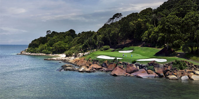 Ria Bintan Golf Club : jouer au golf là où la mer rencontre la terre