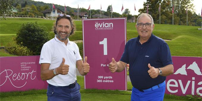 Pro-Am LABO-REAL PROMATEC à l'Evian Resort Golf Club