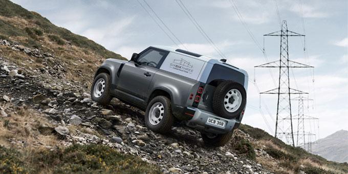 Land Rover Defender Hard Top : le plus robuste et le plus résistant des utilitaires