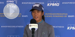 KPMG Women's PGA : Interview de Céline Boutier