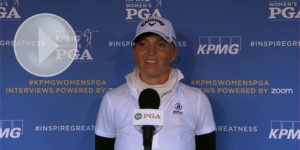 KPMG Women's PGA : Interview de Perrine Delacour