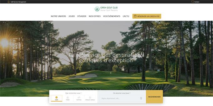 Le site Open Golf Club fait peau neuve