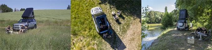 Land Rover Defender propose un road trip incroyable cet automne