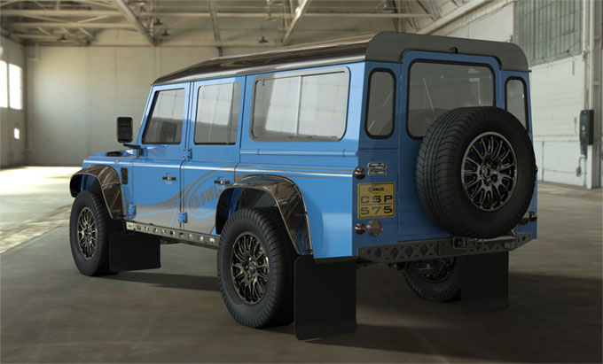 La silhouette du Land Rover Defender original poursuit sa carrière