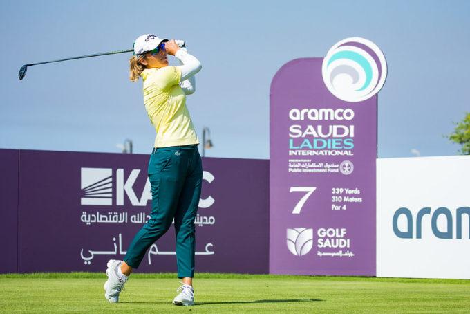 Céline Herbin 4e à mi-parcours dans le dernier tour du Saudi Ladies International