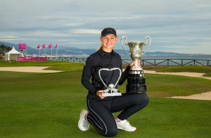 La Danoise Emily Kristine Pedersen, a triomphé à l'Open Féminin d'Espagne