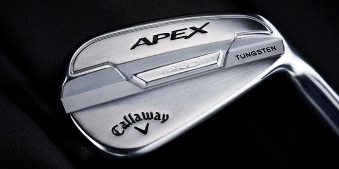 Callaway Golf annonce de nouveaux fers et hybrides Apex