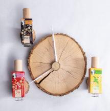 Trois eaux de parfum 100% bio, une première en France