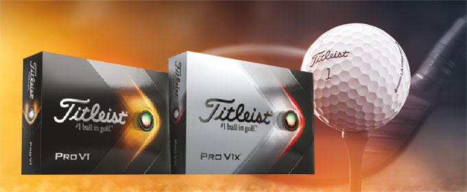 Pro V1 et Pro V1x : l'innovation des balles signé Titleist