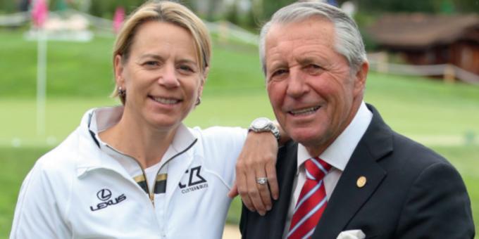 Annika Sorenstam et Gary Player reçoivent de Trump la Medal of Freedom