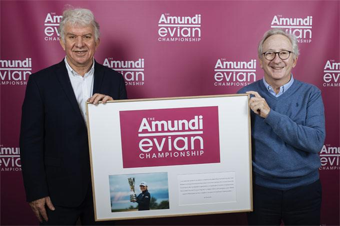 The Evian Championship devient THE AMUNDI EVIAN CHAMPIONSHIP