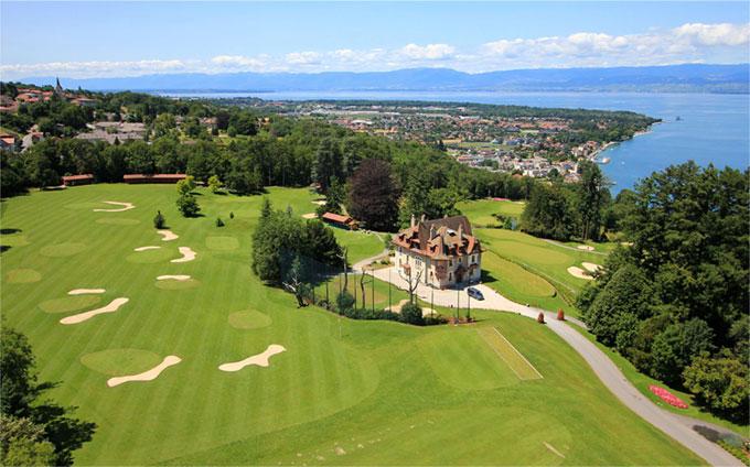 L'Evian Resort Golf Club Deux parcours entre lac et montagnes