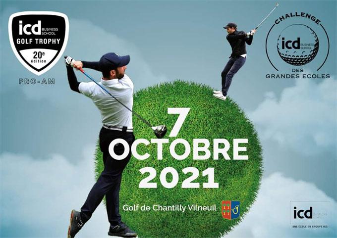 Un Pro-Am à Chantilly pour l'édition 2021 de l'ICD Golf Trophy