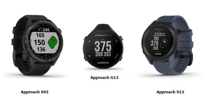 GARMIN®présente 3 nouveaux GPS Golf