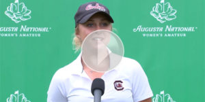 Augusta National Women's Amateur : Interview de Pauline Roussin Bouchard