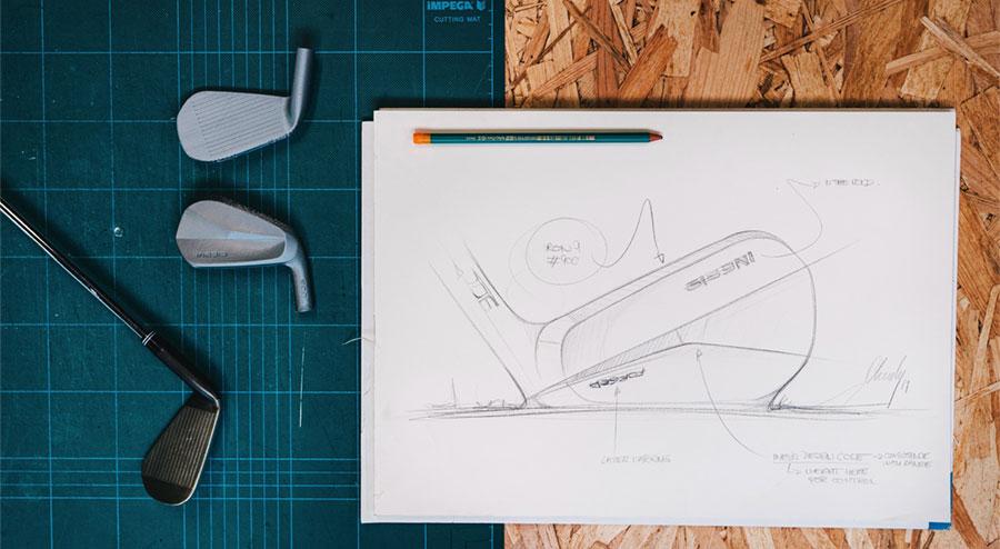 ébauche de design de la série INESIS 900