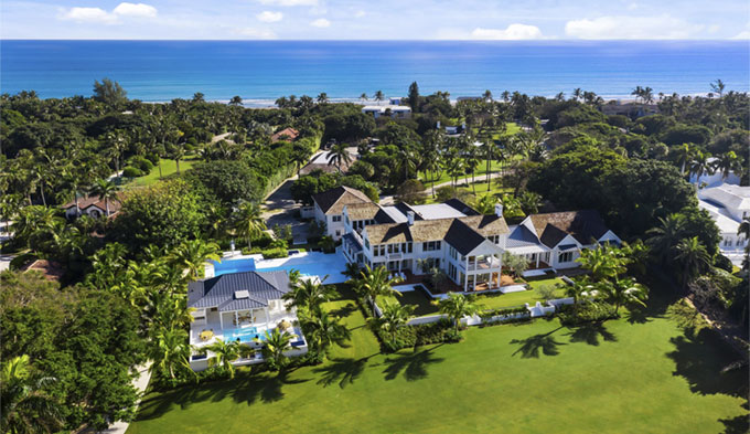 Greg Norman vend un domaine en Floride pour 55 millions de dollars au propriétaire de Victoria's Secret