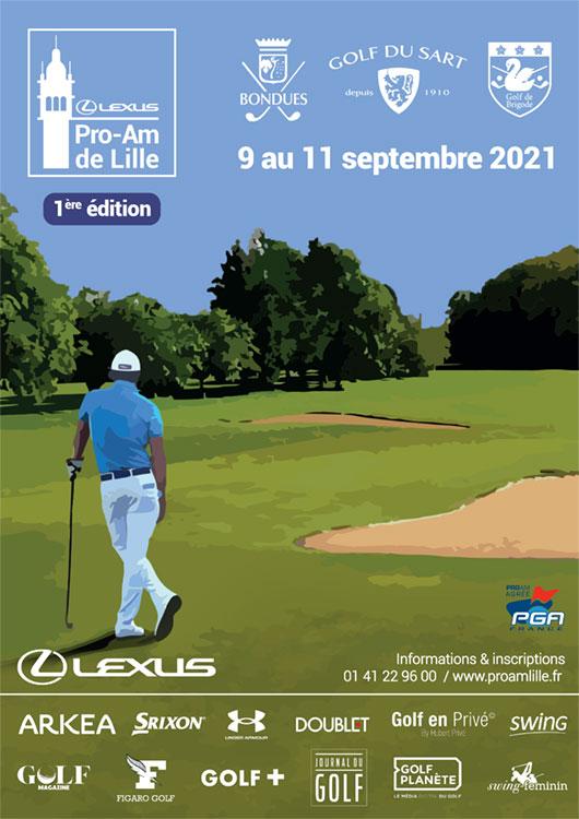 1er LEXUS Pro-Am de Lille