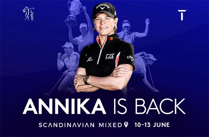 Scandinavian Mixed : Annika is back