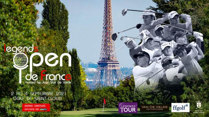 Le Legends Open de France à Saint-Cloud
