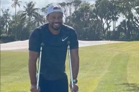 Tiger Woods : première apparition depuis l'accident