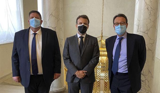 Emmanuel Macron a reçu l'Alliance des Sports et Loisirs de Nature