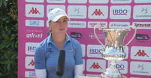 Ladies Italian Open 2021 : interview de Lucie Malchirand