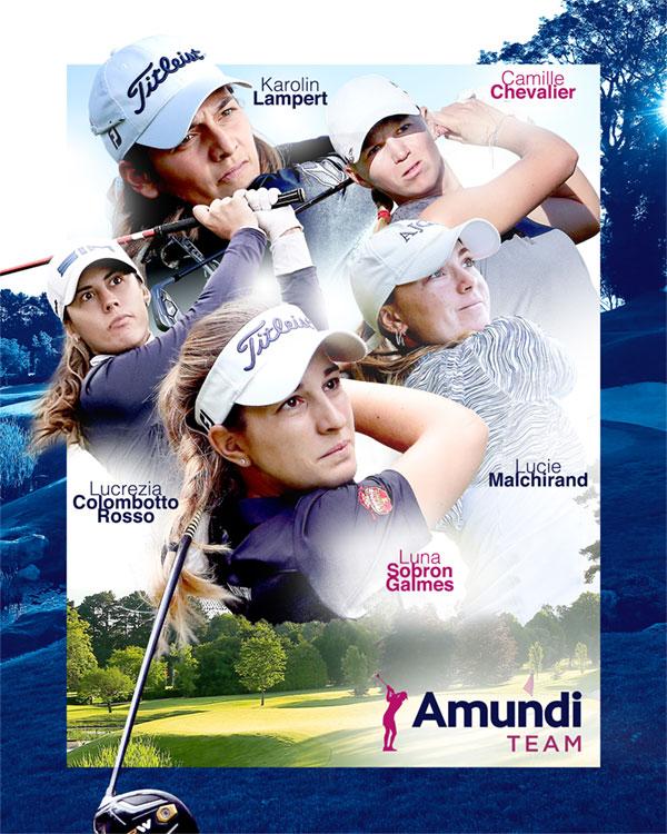 Amundi renforce son engagement en faveur du golf féminin