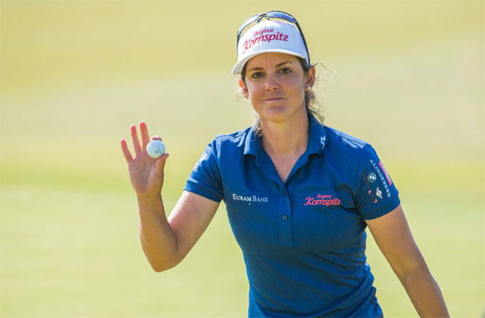 Scandinavian Mixed : Christine Wolf partage la tête du tournoi