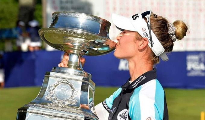 KPMG Women's PGA : Nelly Korda vainqueur, Boutier dans le top 10