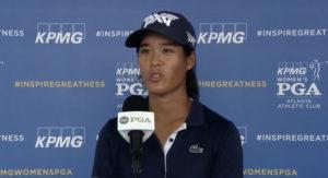 Les impressions de Céline Boutier suite au KPMG Women's Championship 2021