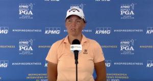 Les impressions de Perrine Delacour suite au KPMG Women's Championship 2021