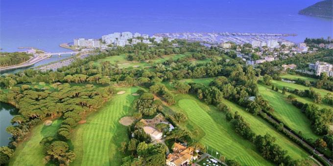 Mandelieu-La Napoule, l'art du golf